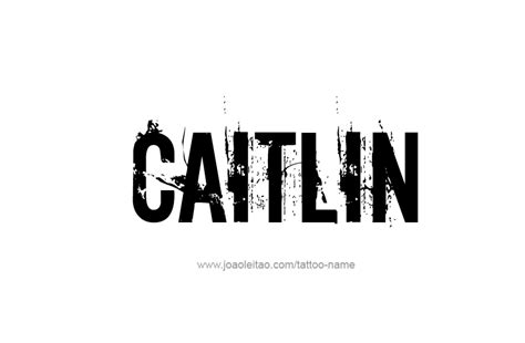 caitlin  tattoo designs