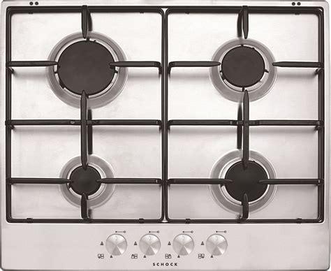 shock piani cottura silver 60 inox prodotti piani cottura e accessori schock