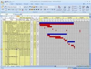 Gantt Chart Excel 2010 Template Excel Spreadsheet Gantt Chart Template Spreadsheet