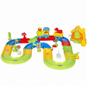 Kids Toy Deluxe Electric Train Set With Lights and Sound ...