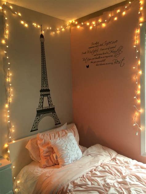 string lights  bedroom room ideas pinterest