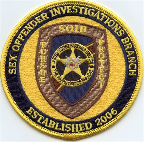 United States Marshal Sex Offender Investigations