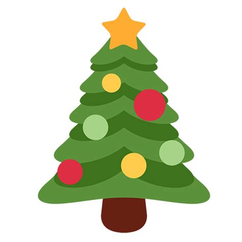 christmas tree emoji for facebook email sms id