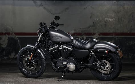 Download Wallpapers Harley Davidson Iron 883, 2017, 4k
