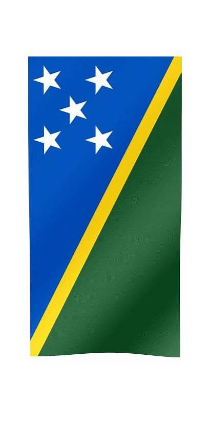 Flag Solomon Islands Flags Animated Its Capital