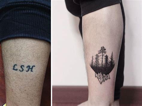 creative cover  tattoo ideas  show  bad tattoo