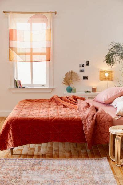 bohemian bedroom bedding furniture decor urban