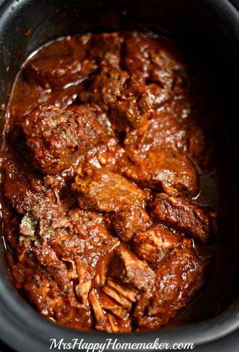 crockpot country style ribs crockpot braised country style ribs mrs happy homemaker