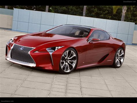 new luxury sports cars lexus lf lc sports coupe concept 2012 car pictures