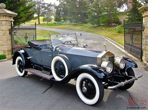 rolls royce roadster 1926 rolls royce silver ghost piccadilly roadster