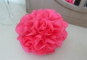 Fleur En Papier Serviette : les pompons l 39 atelier de graine d 39 envie ~ Melissatoandfro.com Idées de Décoration