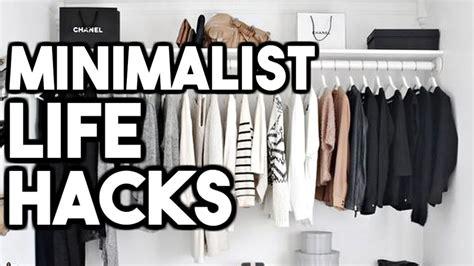 Minimalist Life Hacks! How To Live A Minimalist Lifestyle