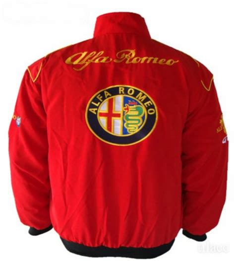 alfa romeo jacke jacket alfa romeo racing team bangkok international