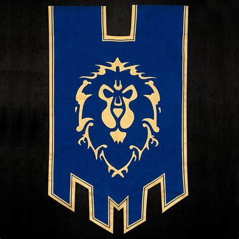 World Of Warcraft - Alliance Banner