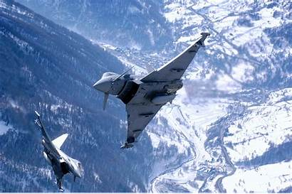 Eurofighter Air Typhoon Force Royal Aircraft Fighter