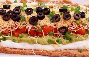 7 Layer Dip Recipe Mexican BeanEasy! Super BowlHow to