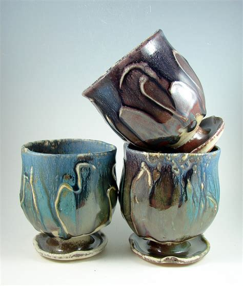 Stoneware Pottery by Pat Parker   Handmade Pottery and Sculptural Art