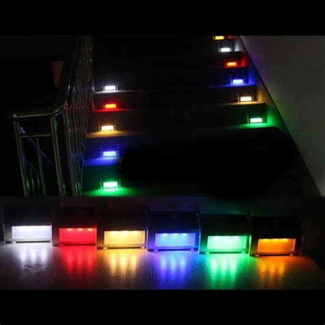 led color changing outdoor waterproof solar mounted