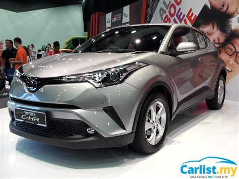 Toyota Malaysia 2020 by 2018 Toyota C Hr Previewed In Malaysia Auto News