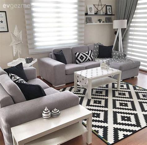 black white and living room ideas teki 25 den fazla en iyi ev dekorasyon renkleri