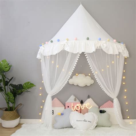 childrens teepee tent  kids canopy drapes  cribs