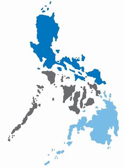 Philippines Map Clipart Vector Ph Transparent Philippine