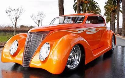 Classic Cars Wallpapers Custom Cool Orange Desktop