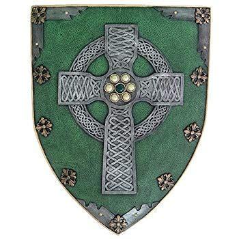 Amazon.com: Celtic Cross Warriors Faith Shield Wall