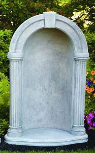 """Grotto Round Keystone For 37"""" Statue"""