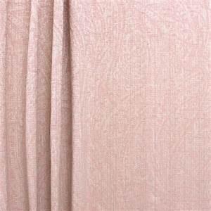 Tissu Rose Poudré : tissu en polyester avec tissage motif de feuillage ~ Teatrodelosmanantiales.com Idées de Décoration