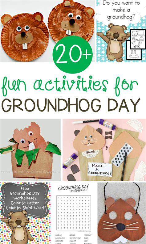 fun groundhog day activities  kids