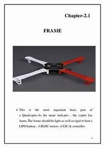 Report Of Quadcopter