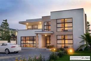 Luxury Home Floorplans Modern 5 Bedroom House Design Id 25603 Floor Plans By Maramani