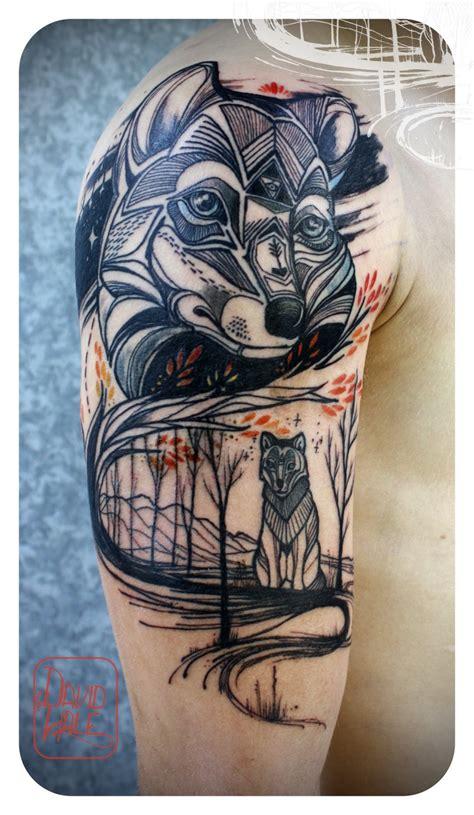 wolf wild tattoojpg