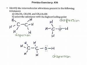 Practice Exercise P 436 Intermolecular Forces
