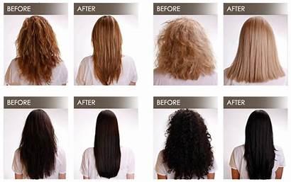Blowout Brazilian Hair Keratin Before Straightening Smoothing