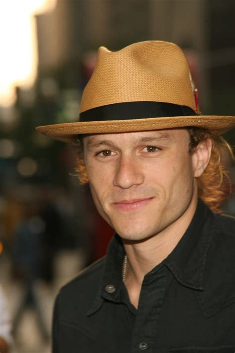 And his own unique style.   Heath Ledger Pictures ...