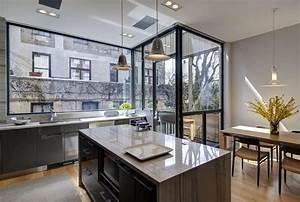 Interior design portfolio of modern kitchen design with for Modern house interior design kitchen