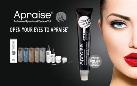 home design courses apraise professional eyelash and eyebrow tint range