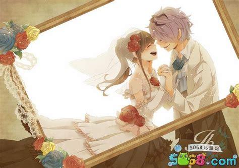Anime Wedding Wallpaper - 两个人的相爱 动漫恋人图片集 4 动漫图片 5068儿童网