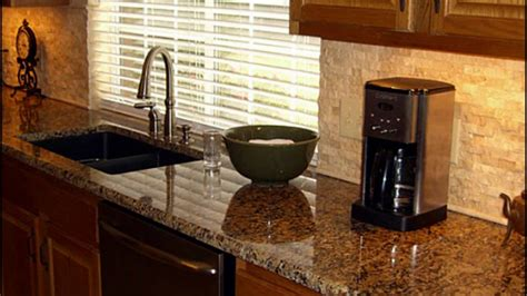 Granite Backsplash by Backsplash And Granite Combinations