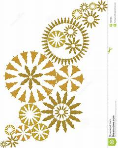 Gold Ornate Christmas Design Vector Royalty Free Stock ...