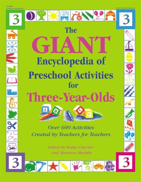 encyclopedia of preschool activities for 3 year olds 614 | giant encyclopedia of preschool activities for 3 year olds cover