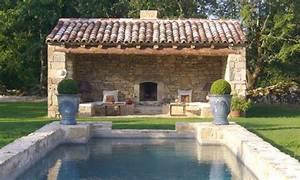 lovely pool house le sud de la france pinterest With good amenagement de jardin avec piscine 5 photo maison provencale pierre