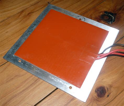 printer heated bed mm  mm silicone heater