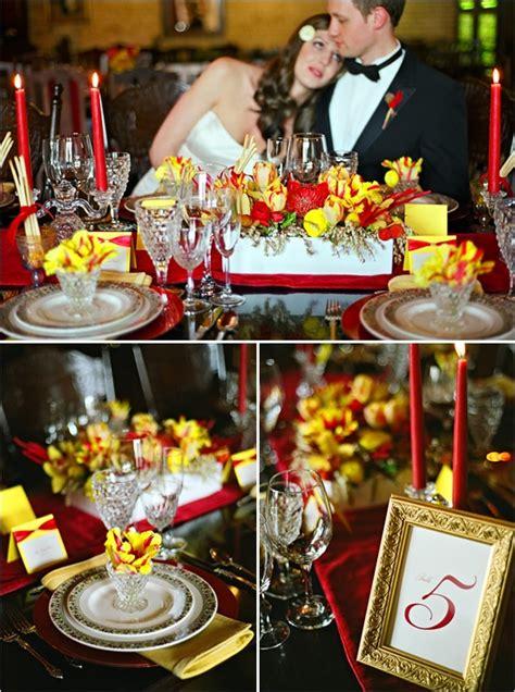 Pedido de Leitora: Casamento Vermelho Amarelo e Branco