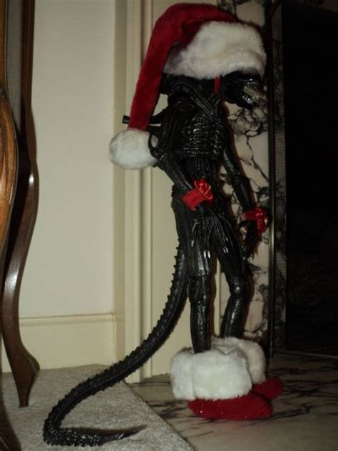 creepy christmas decorations tumblr