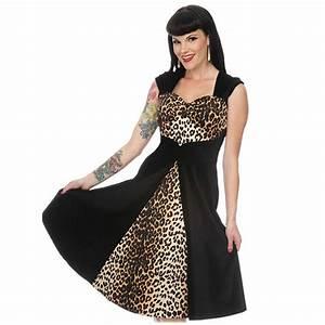 Tenue Interieur Femme Velours : voodoo vixen robe tenue de soiree femme velours leopard ~ Teatrodelosmanantiales.com Idées de Décoration