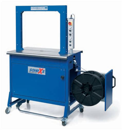 mosca evolution series strapping machine