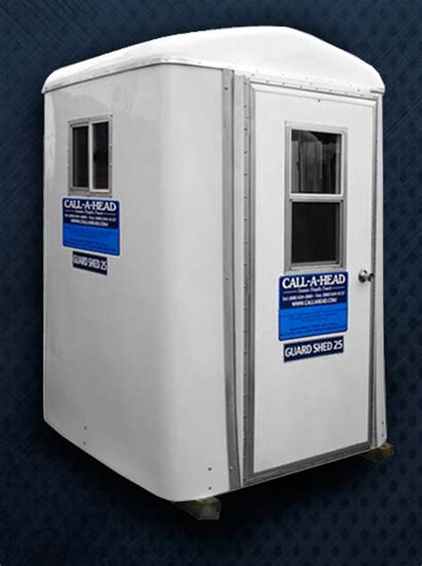 guard shed  portable security guard booth rental